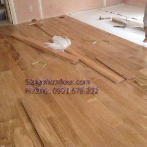 Sàn gỗ sồi tự nhiên